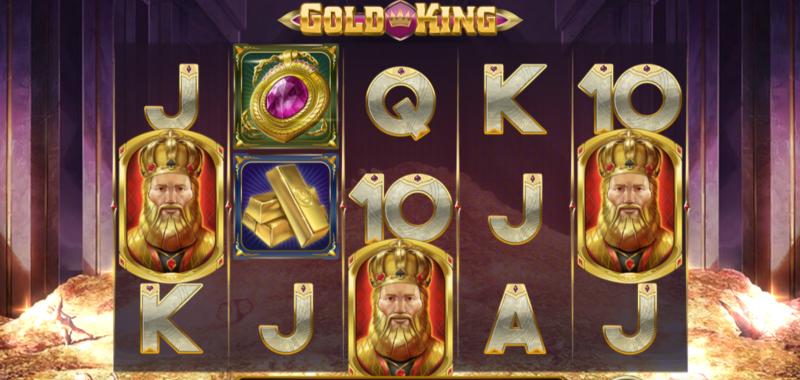 500円/1回転で大勝利なるか?!ビデオスロット『GOLD KING』を実践!