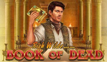 カジノシークレットで人気のビデオスロット分析!【BOOK OF DEAD】